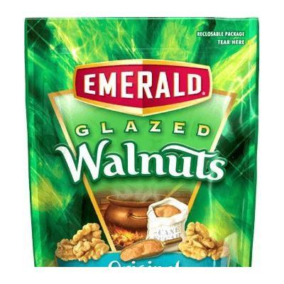 Emerald Glazed Walnuts 20oz Bag