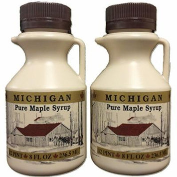 Traverse Bay Farms 100% Pure Michigan Maple Syrup - 2 - 8 oz. bottles