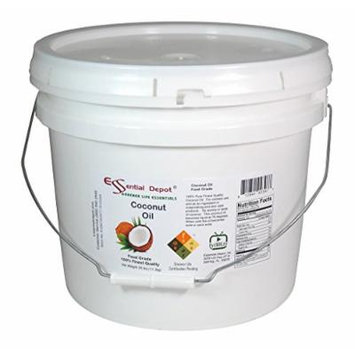 Coconut Oil - Finest Quality Food Grade - 25 lb - In Pail - 3.25 Gallons