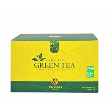 Best Organo Gold Tea Series : 2 Box Organo Gold Organic Green Tea With Ganoderma Lucidum, Organo Gold Green Tea Bags Organic With 100% Certified