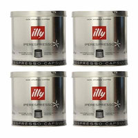 illy iperEspresso Capsules Dark Roasted Coffee, 5-Ounce, 21-Count Capsules (Pack of 4)
