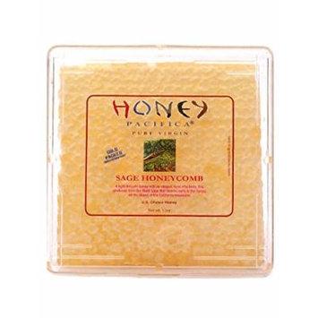 Honey Pacifica Raw Sage Honeycomb Square, 12 oz.