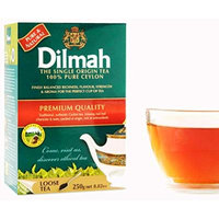 Dilmah Tea, 100% Pure Ceylon Tea, Loose Leaf, 250g 8.82-Ounce Boxes Total 750g ((Pack of 3))