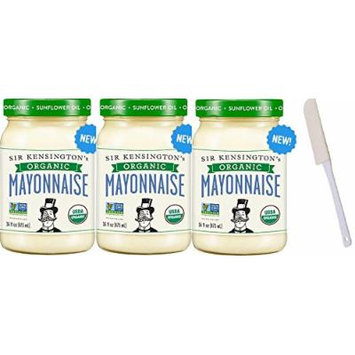Sir Kensington's Organic Mayonnaise, 16 oz Pack of 3 with 6