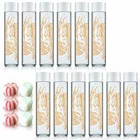 Voss Artesian Tangerine Lemongrass Sparkling Water Flavored 375 ml including Jummybo custom mints - 12 Pack