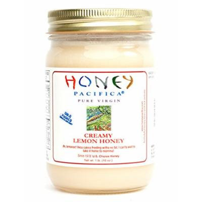 Honey Pacifica Creamy Lemon Honey, 16-Ounce Cold Packed Jar