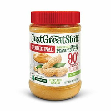 Betty Lou's Just Great Powdered Peanut Butter, 6.35-Ounce Jar, 2 Pack