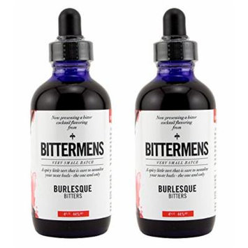 Bittermens Burlesque Cocktail Bitters 2 pack