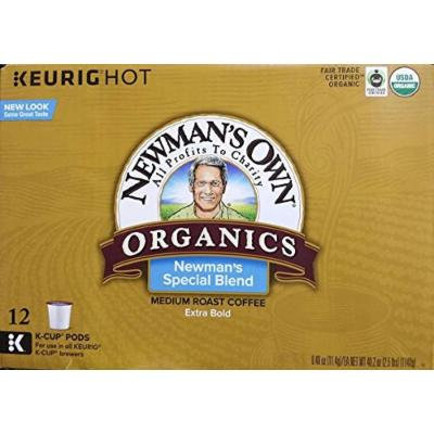 Newman's Own Special Blend Coffee, Medium Roast Coffee K-Cup Portion Pack for Keurig K Cup Brewers - 12, K-Cups