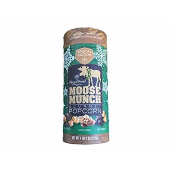 Harry & David Special Edition Classic Sampler Moose Munch Gourmet Popcorn: Caramel, Milk Chocolate, Dark Chocolate 1lb 2 Oz