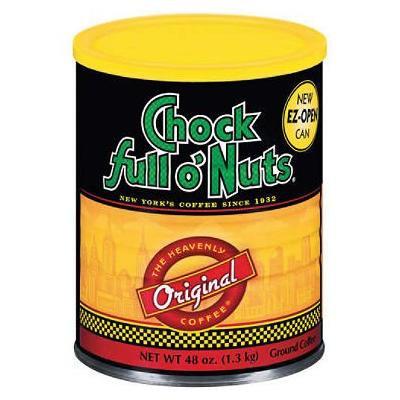 Chock full o' Nuts Heavenly Original Coffee (48 oz.) (pack of 6)