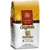 Copper Moon Fair Trade Organic Whole Bean Coffee, Eco Harvest, 2 Pound
