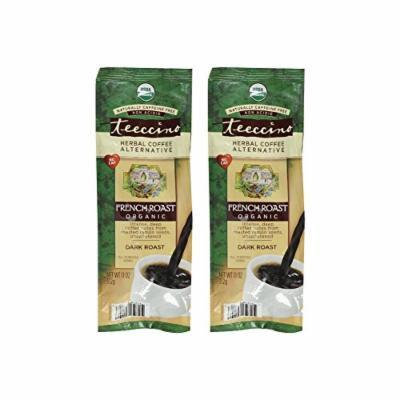 Teeccino Caffeine Free Herbal Coffee - Maya French Roast - 11 oz (Pack of 2)