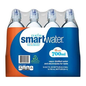 Glaceau SmartWater Water with Sports Cap (700ML bottles, 12 pk.) (pack of 2)