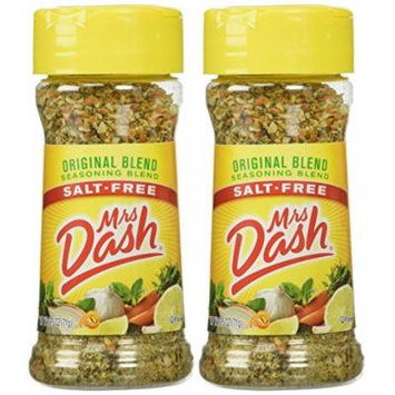 Mrs. Dash Original Blend Salt Free Seasoning Blend (224083) 2.5 oz - Pack of 2