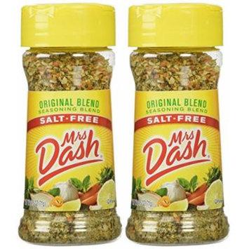 Mrs. Dash Original Blend Salt Free Seasoning Blend (224083) 2.5 oz - Pack of 2