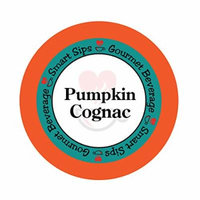 Smart Sips, Pumpkin Cognac Gourmet Coffee, 24 Count, Single Serve Cups Compatible With All Keurig K-cup Brewers