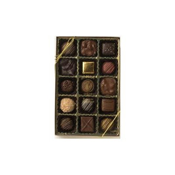 Spokandy 15 Piece Premium Boxed Chocolate Assortments (Premium Assortment)