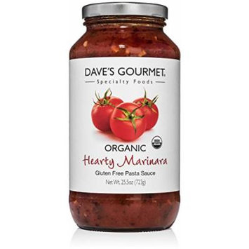 Dave's Gourmet Organic Hearty Marinara Pasta Sauce, Pack of 3