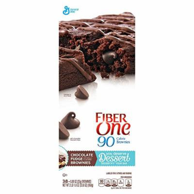 Fiber One 90 Calorie Chocolate Fudge Brownies (0.89 oz., 38 pk.)