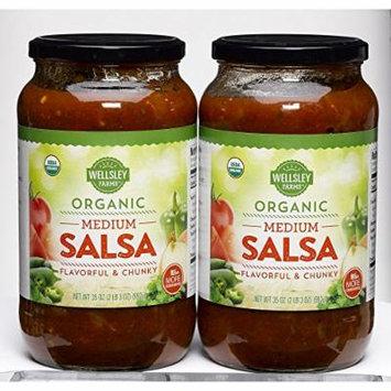 Wellsley Farms Organic Salsa, 2 pk./35 oz.