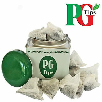 PG Tips Tea Caddy With 40 Original Pyramid Tea Bags