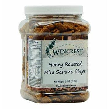 Honey Roasted Sesame Chips - 2 Lb Tub