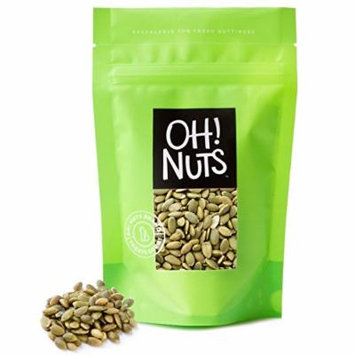 Pumpkin Seeds Roasted Salted, Pepitas Roasted Salted Great for Healthy Snacking or Salad Toppings No Shell - Oh! Nuts (3 LB Pumpkin Seeds)