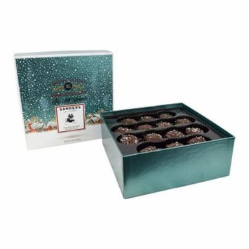 Sanders Dark Chocolate Sea Salt Caramels - Limited Edition: The Boulevard Collection - 14oz Gift Box