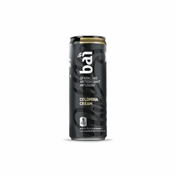 Bai Black Colombia Cream, Sparkling Antioxidant Infused Beverage, 11.5 Fluid Ounce Cans, 12 count
