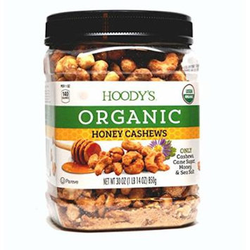 Hoody's Organic Honey Cashews 30oz