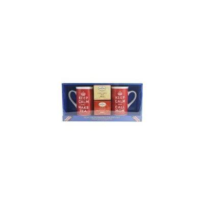 Keep Calm and Call Mom Twining's English Tea Gift Set With 2 Mugs
