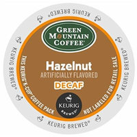 Green Mountain Hazelnut Decaf 48 K-Cups for Keurig Brewers