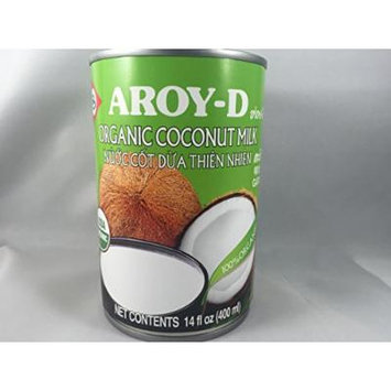 AROY-D Organic Coconut Milk 14oz Pack of 6
