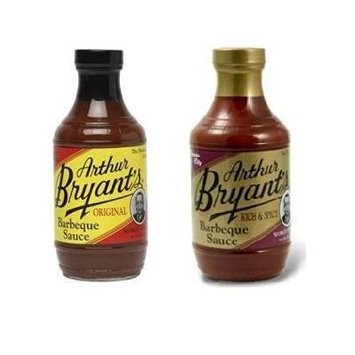 Arthur Bryants Original & Rich & Spicy BBQ Sauce (18 Ounce) - Variety 2 Pack