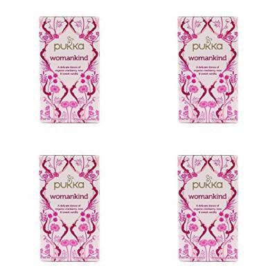 (4 PACK) - Pukka Womankind Tea| 20 Bags |4 PACK - SUPER SAVER - SAVE MONEY