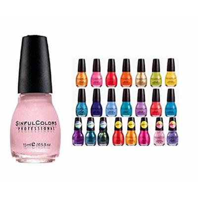 Lot of 20 Sinful Colors Finger Nail Polish Color Lacquer All Different Colors - Colors Listed below