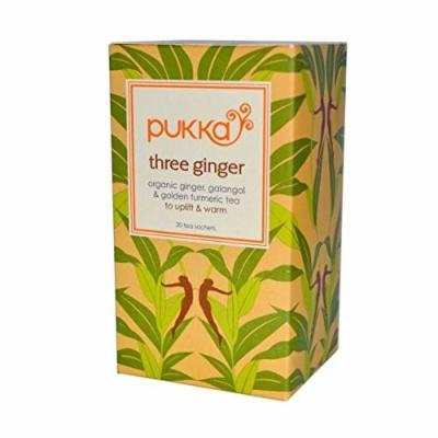 (12 PACK) - Pukka Three Ginger Tea  20 Bags  12 PACK - SUPER SAVER - SAVE MONEY