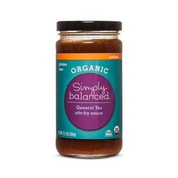Organic General Tso Sauce 12oz - Simply Balanced™