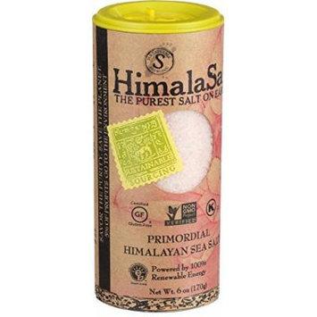 Himalasalt Primordial Himalayan Sea Salt - Fine Grain - Shaker - 6 oz - Case of 6 - Gluten Free