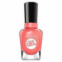 Sally Hansen Miracle Gel Nail Polish - Malibu Peach 380-new Miracle Gel™ No Light Needed + Up to 14 Days of Color & Shine.