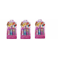 Disney Princess 3pc Set (Lip Balm, Lip Gloss, Nail Polish) X 3 Set
