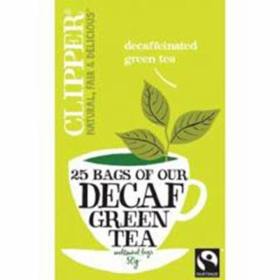(10 PACK) - Clipper - Decaf Green Tea | 25 Bag | 10 PACK BUNDLE
