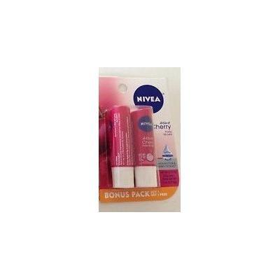 Nivea A kiss of Cherry fruity lip care bonus pack (6 pack of 2 each)