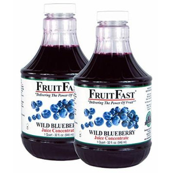 FruitFast Premium Wild Blueberry Juice Concentrate