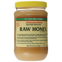 YS Eco Bee Farms Raw Honey - 22 oz (Pack of 5)