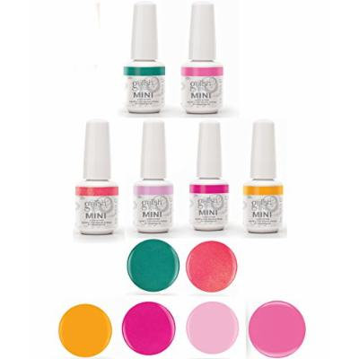Gelish Neon Street Beat Gel Polish Collection - Includes All 6 Color Bottles