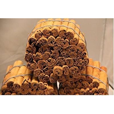 Organic Real Ceylon (Sri Lanka) Cinnamon Sticks, 5 Inch ,(9 Oz), Premium Grade, Freshly Packed - (255g)