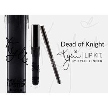 New Female Kylie Jenner Cosmetics Long Lasting Lipstick Lip Gloss Liquid Matte Lip Liner Makeup (Dead of knight)