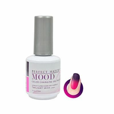 Lechat - Mood Color Changing Soak off Gel Polish (MPMG24 Twilight Skies)